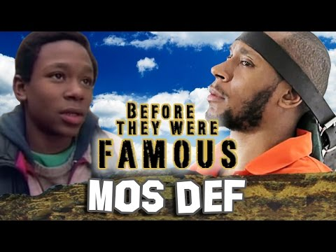MOS DEF - Before They Were Famous - Yasiin Bey