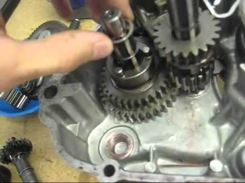 How the Honda 3 speed works Hoat dong cua truc so
