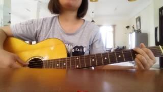Cô gái đến từ hôm qua guitar cover