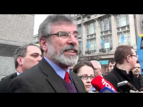 Adams last day of media campaign