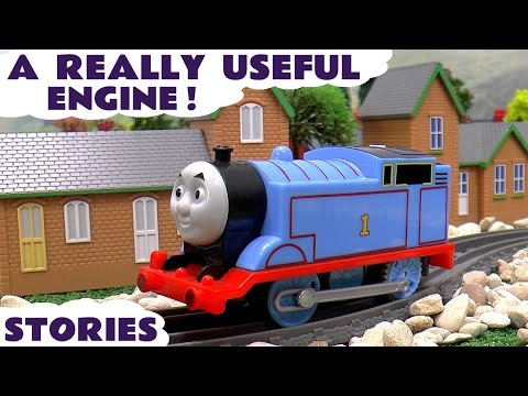 Thomas The Tank Engine Episodes with Minions and Peppa Pig | Avengers help a Really Useful Engine