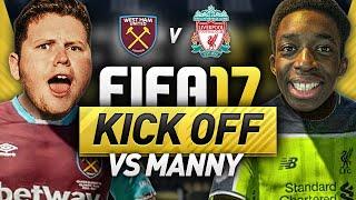 THE FIFA 17 RIVALRY MATCH VS MANNY!!!