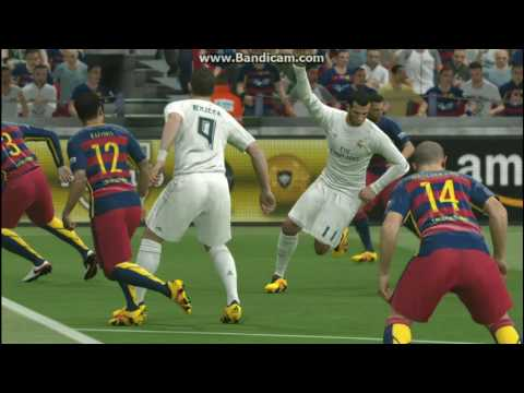 The Best Real Madrid VS Barcelona 2016 (PES) HD Graphic