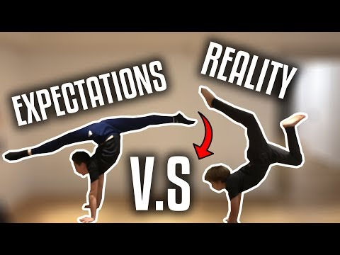 EXPECTATIONS V.s REALITY / DANCE EDITION