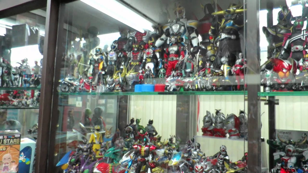 Kamen Rider Toy Shop Japanese Toys In Taipei Taiwan Youtube