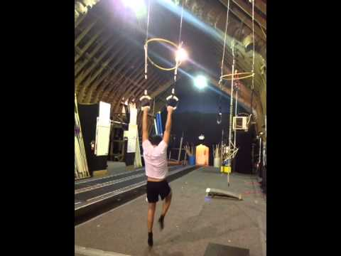 Pole Vault Ring Swing Drill Youtube