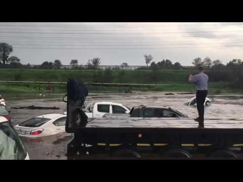 Floods in Johannesburg