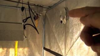 Grow Tent Dark Room 2 DR 120 | DR120II - DarkRoom 2 4x4 | Hydroponic Equipment Supplier
