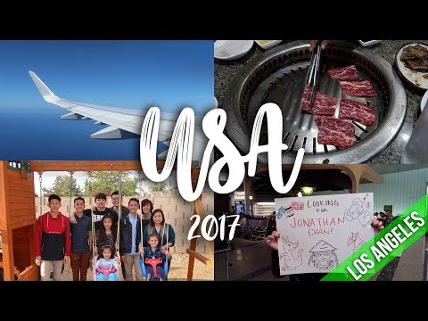 USA | LOS ANGELES | TRAVEL VLOG 2017