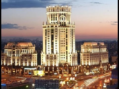 Beautiful Moscow city
