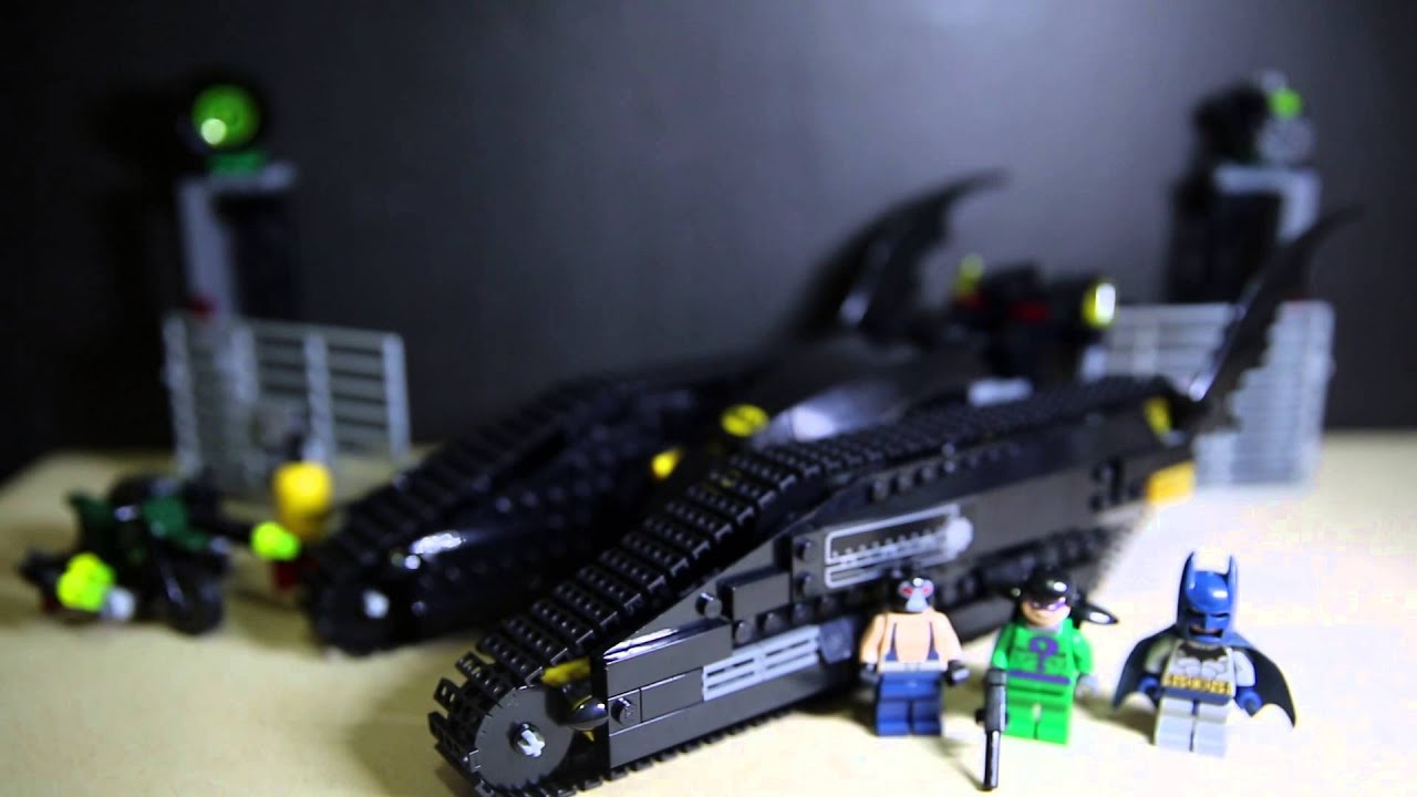 Lego 7787 Batman The Bat Tank The Riddler and Bane's ...