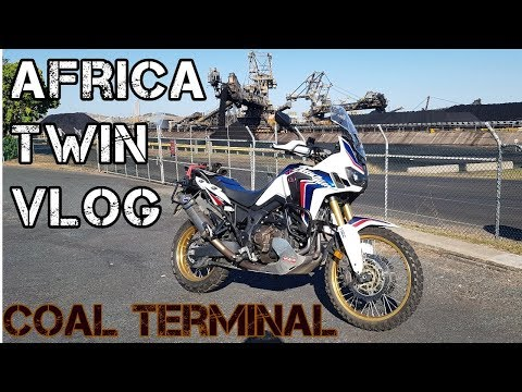 Africa Twin ride out to coal ports