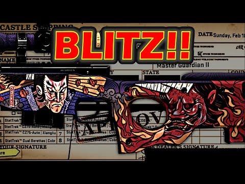 CSGO - Trade Up Blitz 5# - Risk, Reward, Returns