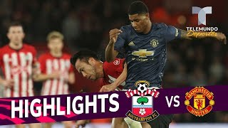 Southampton vs. Manchester United: 2-2 Goals & Highlights | Premier League | Telemundo Deportes