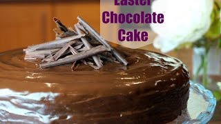 Easter Chocolate Treat | Indulgent Chocolate Blackout Cake | Gluten Free Dairy Free