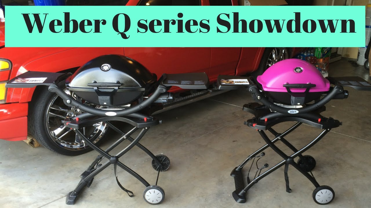 Weber Elektrogrill Q 1400 Vs 2400 : Weber q vs q comparison youtube