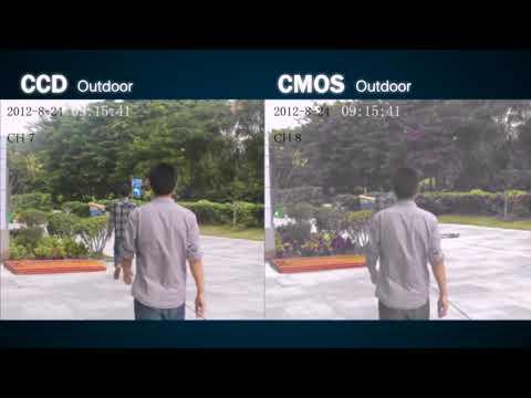 Diferença entre Cmos e CCD