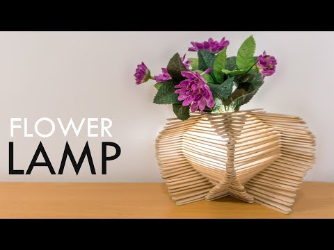 Decorative Flower Vase Lamp: Creative Ideas to your Home