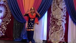 Kaur B Phulkari dance by Kivkirat at Vaisakhi Mela