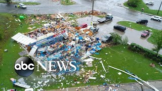 Heavy winds, tornadoes rip through the South