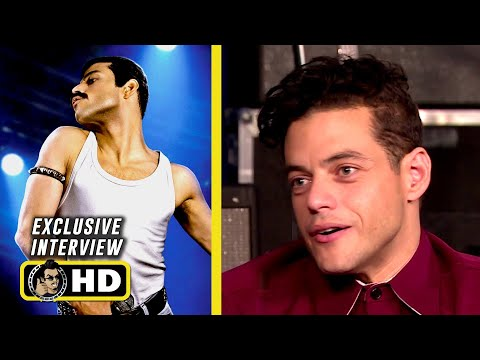 Rami Malek & Cast  Exclusive Interview - BOHEMIAN RHAPSODY (2018) JoBlo.com