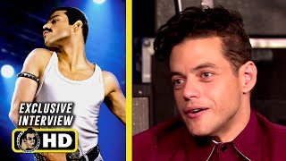 Rami Malek & Cast  Exclusive Interview - BOHEMIAN RHAPSODY (2018) JoBlo.com