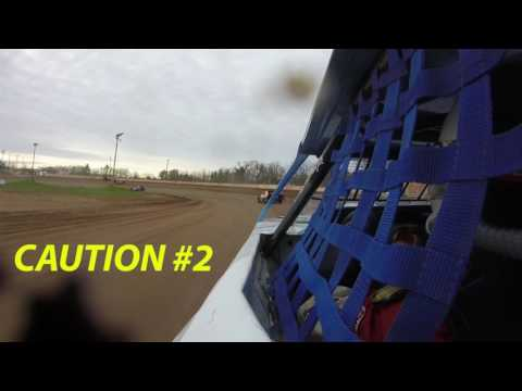 WISSOTA MIdwest Modified Heat Race @ Rice Lake Speedway