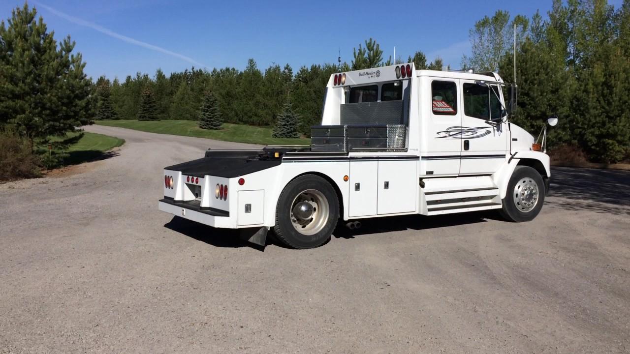 2001 Fl60 Freightliner Semi Truck Lot 13753 Youtube