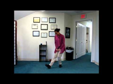 PT (physical therapy) instructions for GOLF WARM UP and STRETCHING