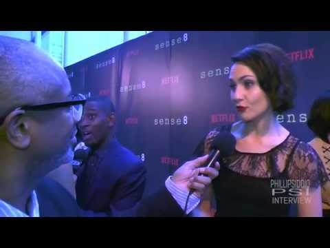 The Phillip Siddiq Show Red Carpet Sense8 with Tuppence Middleton!