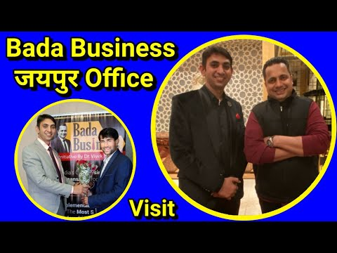 Dr. Vivek Bindra Bada Business Jaipur Office Visit | Mr. Narjeet Singh Interview Channel Partner |