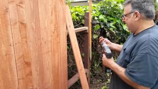 DIY REDWOOD DOG EAR FENCE HOW I DO IT THE EASY WAY, PHILA TV!