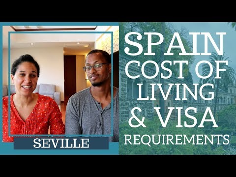 Living Costs In (Seville) Spain And Visa Requirements (#Spain #Seville)