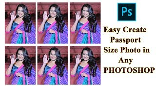 Adobe Photoshop CC / Kolay İpuçları vesikalık Fotoğraf Oluşturma PHOTOSHOP