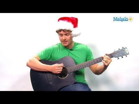 How to Play Rockin' Around The Christmas Tree on Guitar - YouTube