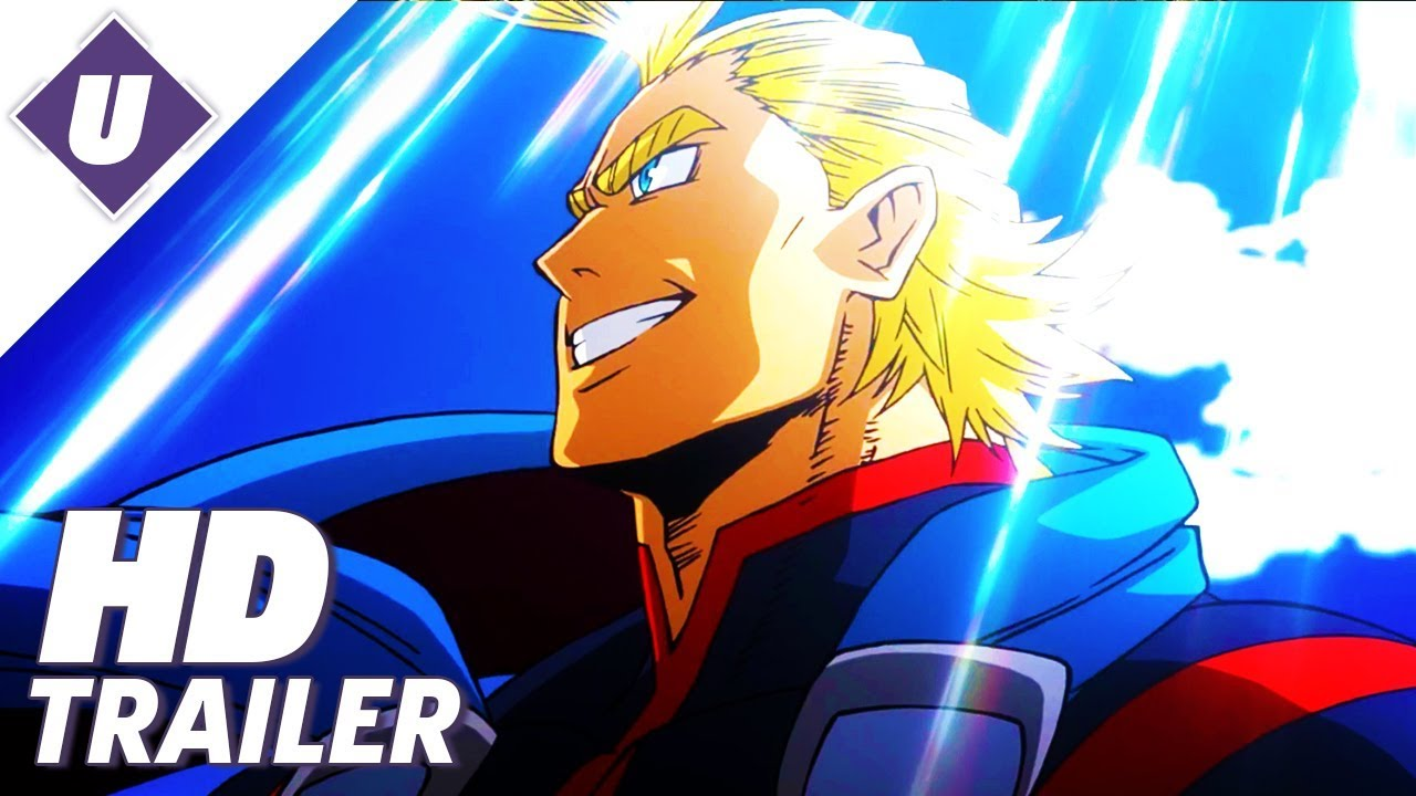 My Hero Academia Two Heroes First Official Dubbed Trailer 2018 Youtube