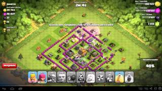 Clash of Clans Angriffstaktik #4 so gut wie immer 100%