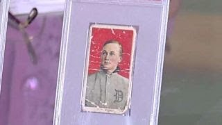 Ty Cobb baseball card could fetch $125K or more at auction