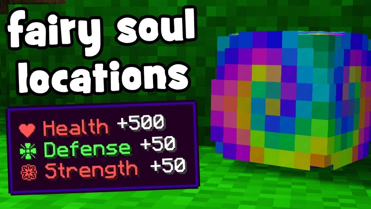 [UPDATED] 209/209 Fairy Soul Locations | Hypixel Skyblock
