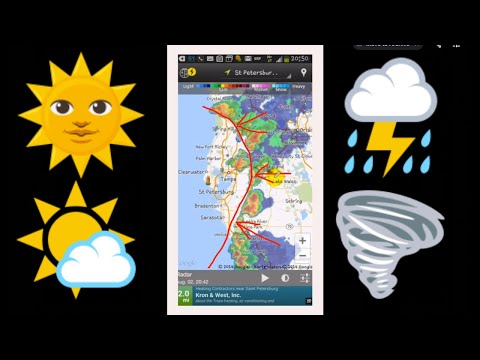 Weather And Climate Around Tampa Bay St. Petersburg Florida Area