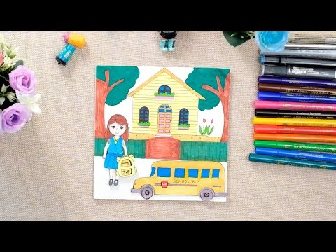 Paper doll, Quiet book, DIY, Maya's school day