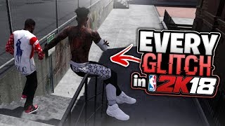 EVERY GLITCH IN NBA 2K18 - VC, ANIMATIONS, BADGES, ETC.