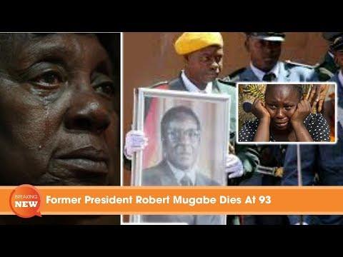 Former President Robert Mugabe Di@s At 93