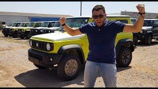 Το Νέο Suzuki Jimny Ήρθε Στην Ελλάδα!!!
