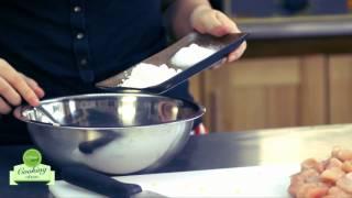Cách làm món Chả gà lá nếp (Chicken wrapped in Pandan Leaves))