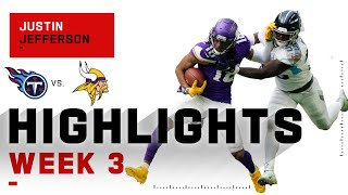 Rookie Justin Jefferson Has Arrived | NFL 2020 Highlights