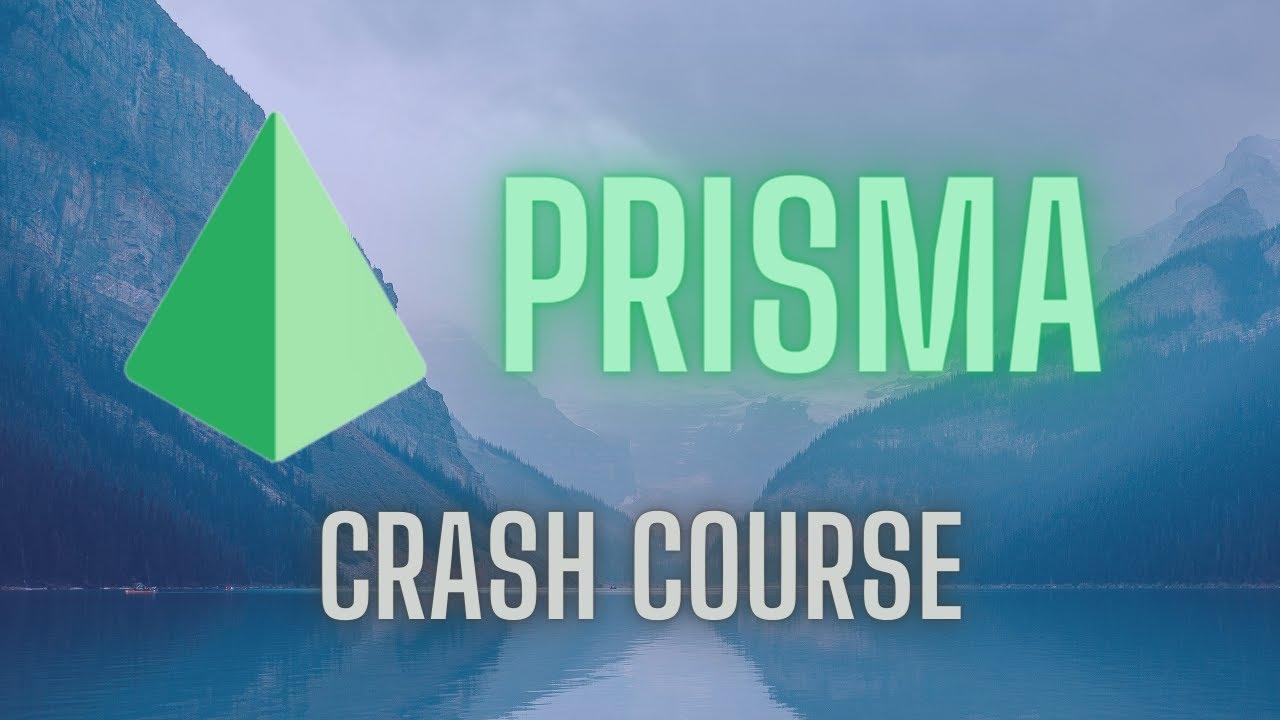 Prisma 2 (Node JS ORM) Crash Course - 2021
