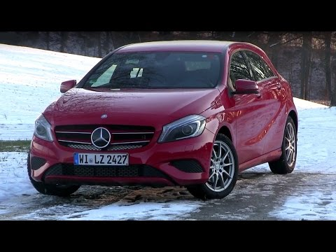2015 Mercedes Benz A 200 (156 HP) Test Drive