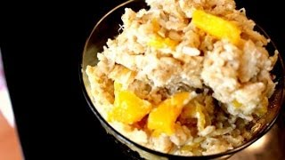 Mango Coconut Baked Oatmeal | Momma Cuisine | Great Everyday Meals
