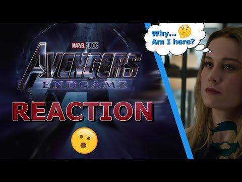 Avengers: Endgame Trailer! Captain Marvel Bores? Thor Endorses!